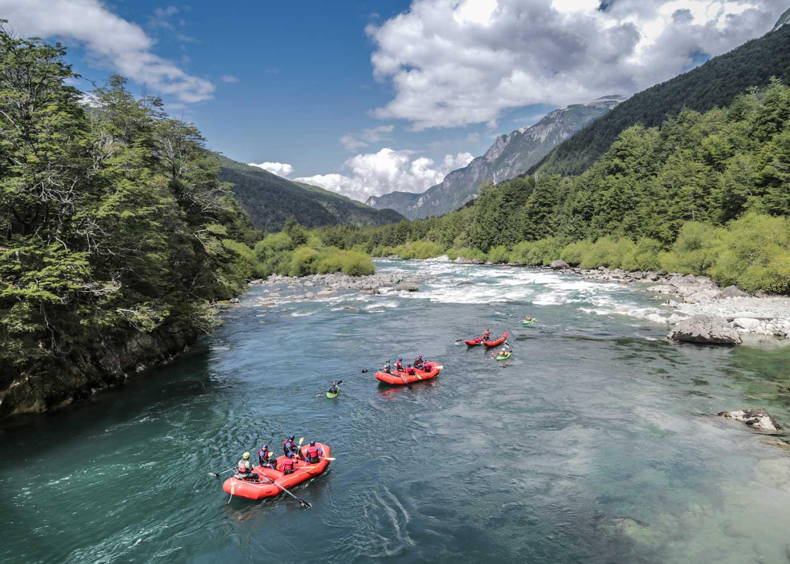 Rafting & Kayak en Futaleufu
